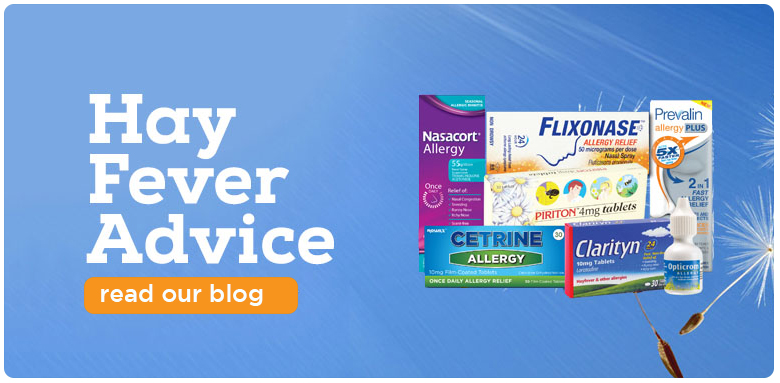 hay fever advise banner